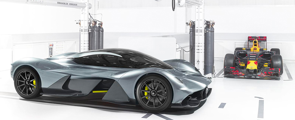 Aston Martin and Red Bull Racing